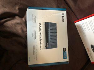 D-link DOCSIS 3.0 cable modem for Sale in Newark, NJ