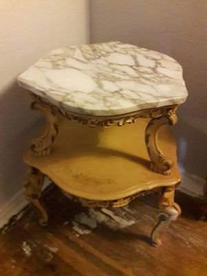 Vintage/ Antique table with marble top for Sale in Orlando, FL