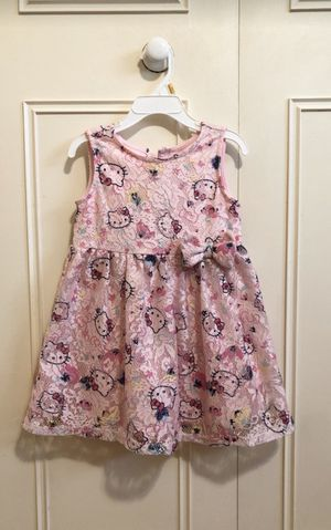Hello Kitty girl dress for Sale in Los Angeles, CA