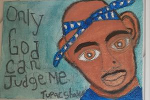 Tupac portrait for Sale in Inglewood, CA