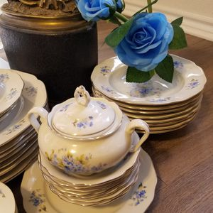 Czechoslovakia Toscport Perrin China Set for Sale in Fort Worth, TX