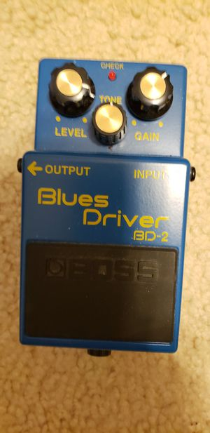 Boss blues driver pedal for Sale in Crystal River, FL