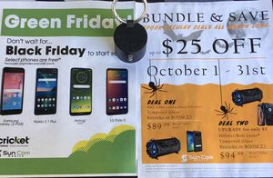 Last chance to get your AMAZING FREE phone!!! Cricket wireless in Sebastian for Sale in Sebastian, FL