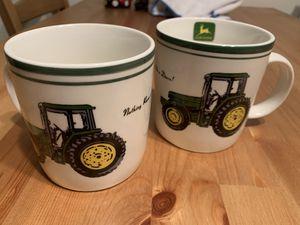 Set of John Deere Mugs for Sale in Fresno, CA