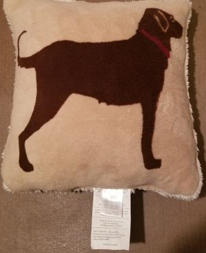 Cannon Brand dog design throw pillow for Sale in Three Rivers, MI