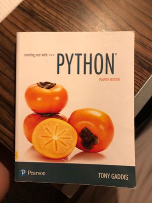Starting Out With PYTHON for Sale in Starkville, MS