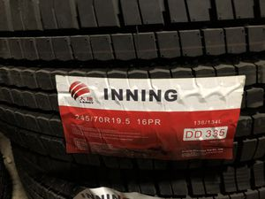 Step deck trailer tires. for Sale in Lemont, IL