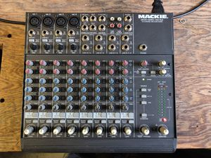 MACKIE Micro Series 1202-VLZ 12-Channel Pro Audio Mic/Line Mixer for Sale in Ellensburg, WA