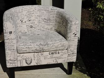 Barrel chair And Ottoman for Sale in Vancouver,  WA