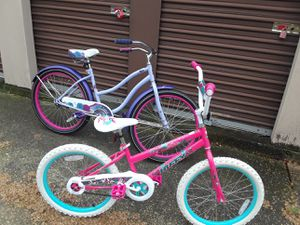 two girls bike's. both for $65 will deliver if not to far. for Sale in Dallas, TX