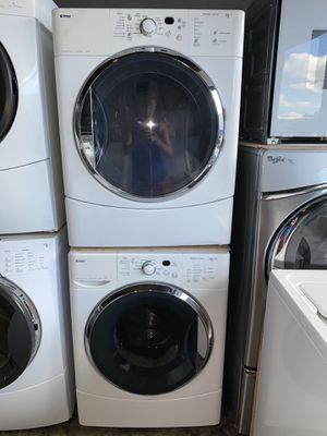 KENMORE LARGE CAPACITY STACKABLE WASHER DRYER 100 DAYS WARRANTY for Sale in Vancouver, WA