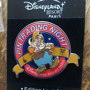 Disney Paris Snow White's Happy Trading Night Pin for Sale in Portola Hills, CA