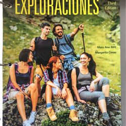 Exploraciones Third Edition Textbook for Sale in Sheffield Lake,  OH