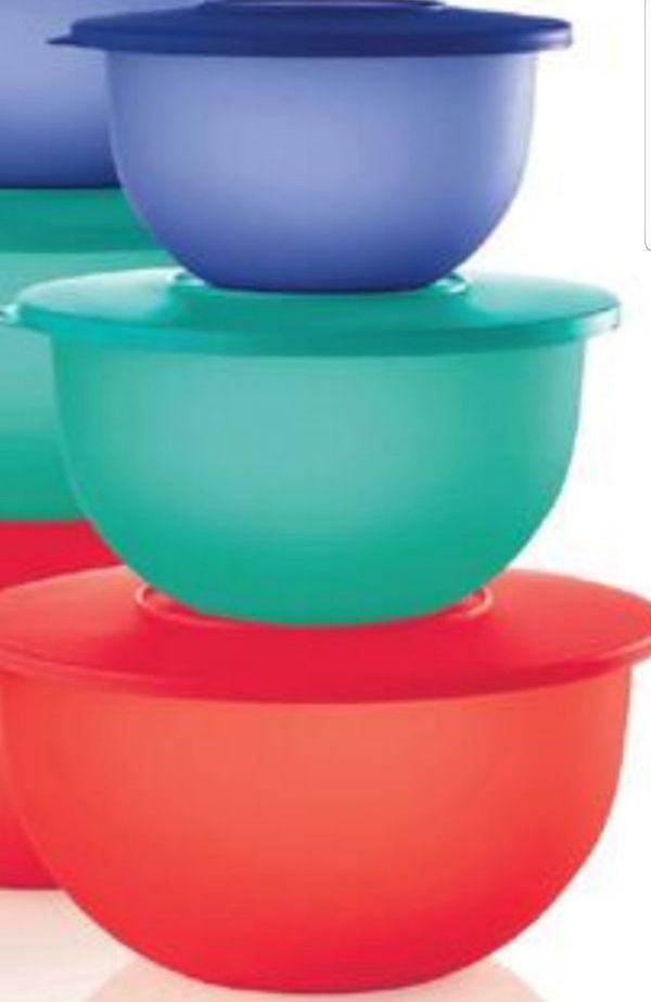 Tupperware Impressions Set Of 3