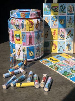Lotería Handmade Game Set for Sale in Baldwin Park, CA