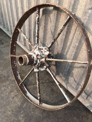 Old iron wheel for Sale in Los Angeles, CA