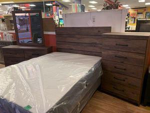 New 4pc Cassco Aspen Queen/Full Bedroom Set for Sale in Virginia Beach, VA