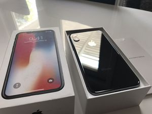 iPhone X 256GB Unlocked with AppleCare + for Sale in Corona, CA