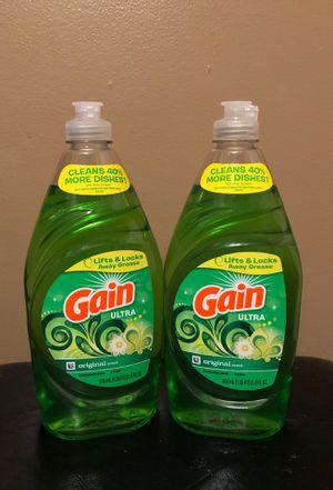 2 Gain dish soap for Sale in Hamburg, NY