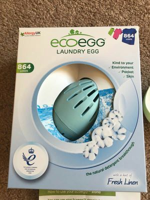 Ecoegg 864-Load Colors & Whites Laundry System - Fresh Linen - HSN for Sale in Pittsburgh, PA