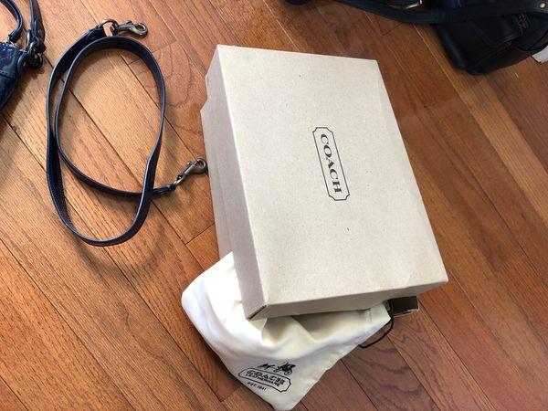 Brand new Coach purse patent leather satchel crossbody bag
