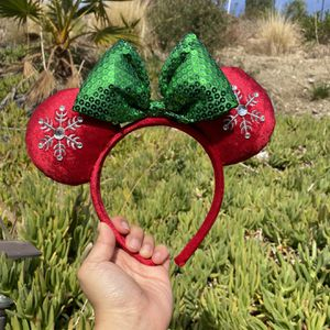 Disney Parks Holiday Snowflake Minnie Ears for Sale in Santa Clarita, CA