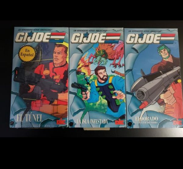 GIJOE VHS IN SPANISH