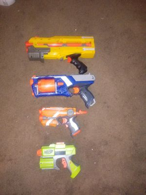 Set of nerf guns for Sale in Columbus, OH