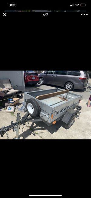 Small trailer 4.5 ft by 3 ft like new 2005(💥PRICE IS FIRM💥) for Sale in Lakewood, WA