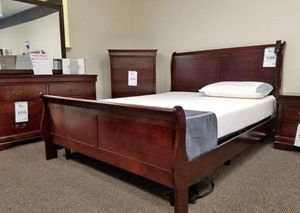 (Brand New In Boxes) Queen Size Sleigh Bedroom Set for Sale in Atlanta, GA