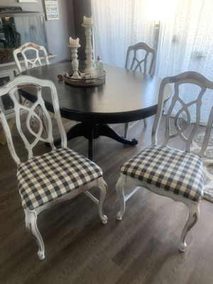 4 Dining room chairs - Farm House Style for Sale in Chatsworth, CA