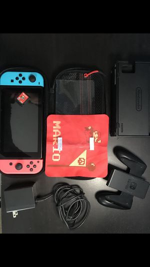 Nintendo Switch Super Mario Odyssey Bundle for Sale in San Lorenzo, CA