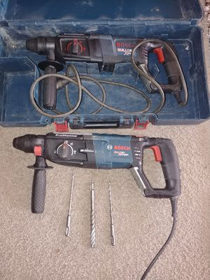 Rotarys hammers drills bosh los 2 por este precio for Sale in Falls Church, VA