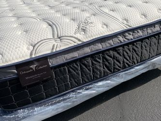Cal King Imperial Touch Pillow Top Mattress And Boxspring! for Sale in Anaheim,  CA