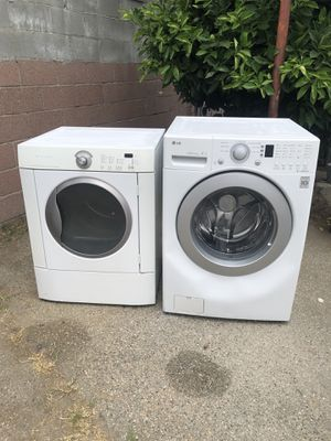 LG and Frigidaire Washer and Gas Dryer - Fully Functional! for Sale in West Covina, CA