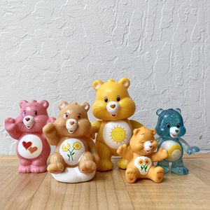 Care Bears Sunshine Bear & Lot of 4 Collectable Figurine Toys for Sale in Elizabethtown, PA
