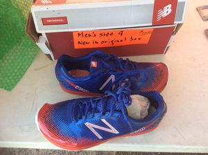 Men's New Balance trail or track running shoes new in box size 9 for Sale in Gresham, OR