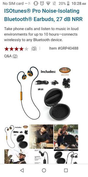 Iso-Pro headphones for Sale in Carmichael, CA