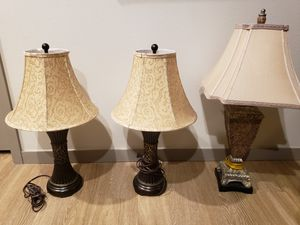 Set of lamps good condition for Sale in Lakewood, CO