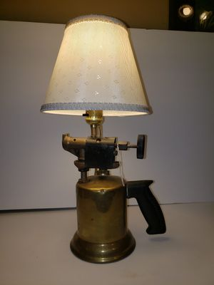 Vintage torch converted to lamp for Sale in North East, MD