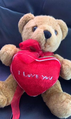 "7"" I love you teddy bear for Sale in Miami, FL"