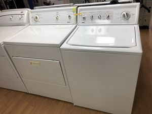 Kenmore white washer and dryer set for Sale in Woodbridge, VA