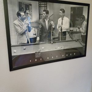 Rat Pack Framed Poster for Sale in Rancho Cucamonga, CA