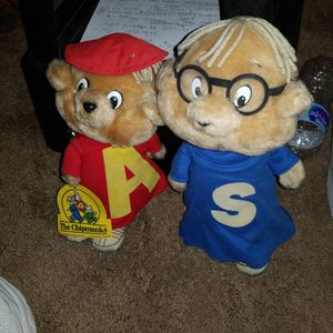Alvin And Simon. Chipmunks for Sale in San Dimas, CA