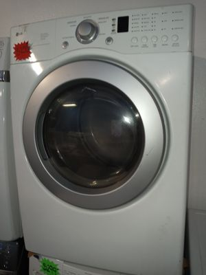 LG ELECTRIC DRYER WORKING PERFECT W/4 MONTHS WARRANTY for Sale in Baltimore, MD