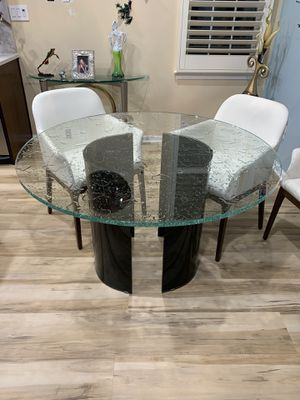 Glass kitchen table for Sale in Holland, PA