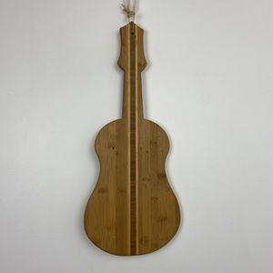 Totally Bamboo Guitar Cutting Board for Sale in Oakland, CA
