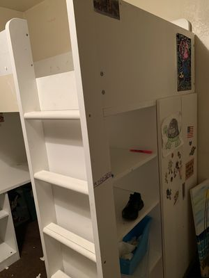 Free ikea loft bed available on curb side on 10/20/20 for Sale in Los Angeles, CA