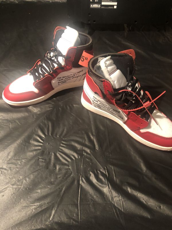 Chicago Off White 1's SIZE 11