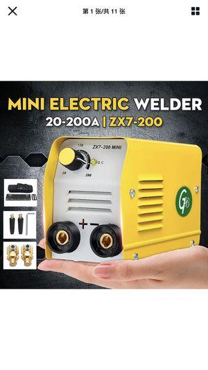 Electric Welder Machine 220V 200A ZX7-200 miniGB IGBT DC Inverter ARC MMA Stick for Sale in San Leandro, CA